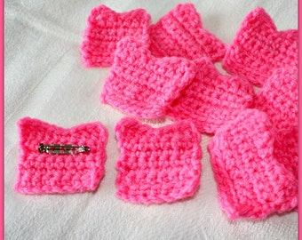 Pink Cat Ear Hat pins