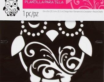 Tulip Textile Whimsical Owl Stencil