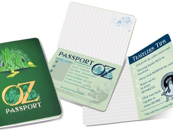 Wizard of Oz Passport Notebook
