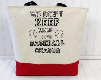 Baseball Bags - Baseball Mom - Baseball Tote bags - Baseball Tote Bag - Baseball Mom Tote Bags - Monogram Baseball Tote- Baseballbag