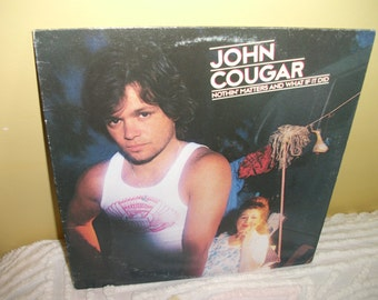 John Cougar Nothin' Matters and What If It Did Vinyl Record Album NEAR MINT