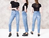 hold LEVI high waist jeans BOYFRIEND skinny women 90s FADED vintage denim relaxed fit / 27 waist / size 6 / better Stay together