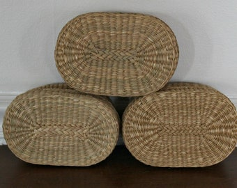 Woven baskets with lid, favor boxes, gift boxes, storage, storage baskets