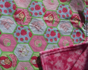 Strawberry Shortcake Toddler/Nap Blanket