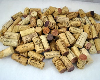 100 Natural WINE CORKS - Red and White Wines - No Synthetics - All in great condition