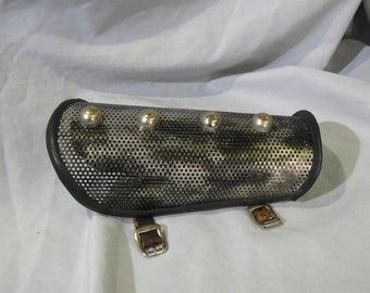 1/16 aluminum mesh Fallout style bracer