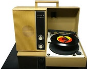 RESERVED - BM | vintage mid century zenith portable record player