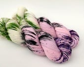 BLOOM - Hand Dyed Yarn - Signature Merino Nylon Sock Yarn Fingering - Ready to Ship - Vivid Yarn Studio