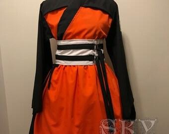 Naruto Shippuden Kimono Dress