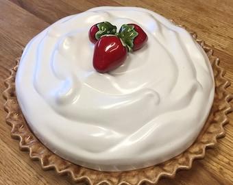 Vintage Strawberry Cheesecake Keeper