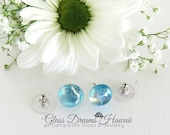Pale Aquamarine Glass Stu...