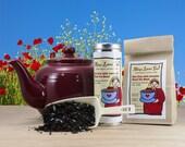 Organic Earl Grey with Lavender Gourmet Tea in a Bag or Tin, 100% Organic, Fair Trade, Loose-Leaf Blend