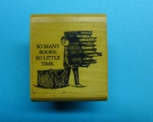 Super Rare Edward Gorey / So Many Books, So Little Time / Rubber Stamp
