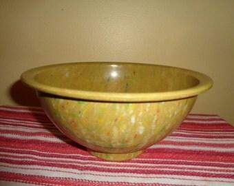 Wonderful Mid Century Vintage ~ Texas Ware ~ Confetti Splatter ~ Melmac Mixing Bowl