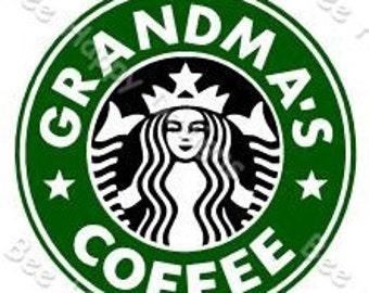 Starbucks Logo SVG - GRANDMA'S COFFEE