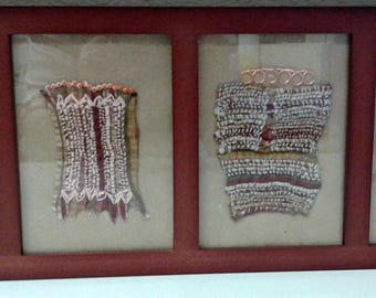 Fabric Foursome Wall Hanging