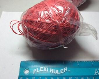 Hemp cording 20 pound Red