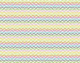 Flutter & Float - Breeze White - Ana Davis - Blend Fabric 100% Quilters Cotton