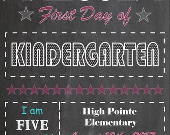 First Day Chalkboard Design Elements Instant Download for Electronic Cutters party silhouette cricut vinyl digital blackboard star