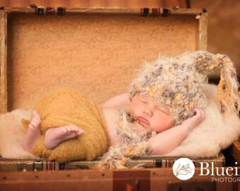 Baby Hat, Newborn Photo Prop, Newborn Hat, Photography Props, Knit Newborn Hat, Photo Prop