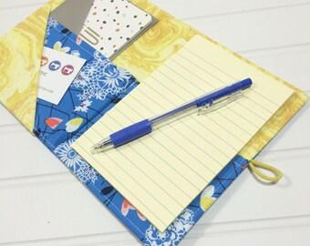 Mini Shopper - Notepad holder List taker - Fairy vines