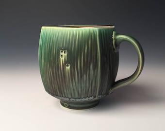 Square Mug - Dark Green
