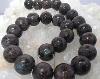 50% Mega Sale 16mm Larkivite Labradorite Round Gemstone Beads