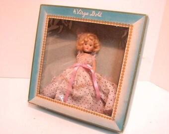 Vintage Virga Cinderella Doll in Box Beehler Arts Storybook Doll