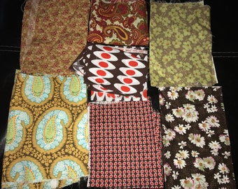 Mixed Fabric Remnants Bundle Sizes Vary