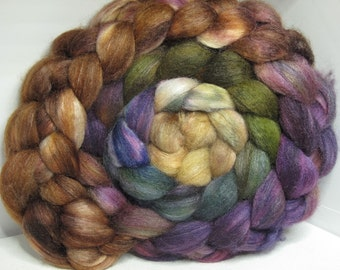 BFL/Tussah 75/25 Roving Combed Top - 5oz - Tanglewood 1