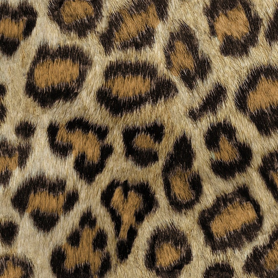 Faux leopard fabric etosha leopard by willowlanetextiles for Animal print fabric for kids