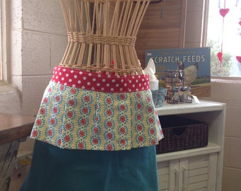 Half apron from pioneer woman towel set