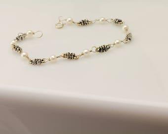 Freshwater Pearl Bracelet. Listing