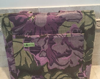 Large Upholstery tote bag