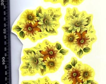 Decals for Ceramic, vintage, floral - BULK LOT