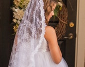 All Lace First Communion Veil