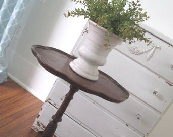 Vintage Side Table * Cottage * Farmhouse * Nightstand * End Table