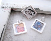 Photo Charm . Sterling Silver Photo Frame . Charm Only . Capture Collection . Brag About It