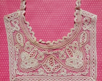 Antique Lace Vintage Lace Handmade Lace Collar