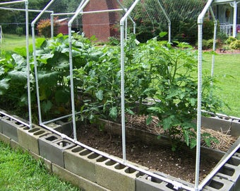 Garden Guard or Deluxe Cold Frame and Raised Bed pdf Pattern 3 in 1 SALE Instant Download