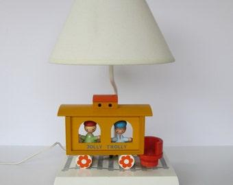 Vintage Irmi Style Childrens Lamp