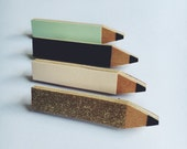 Pencil Brooch - 4 Colours Available