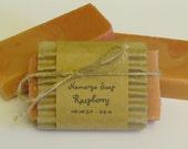 Raspberry Cold Process Soap