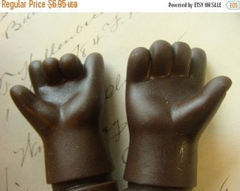 ON SALE Vintage Adorable Rubber Doll Arms