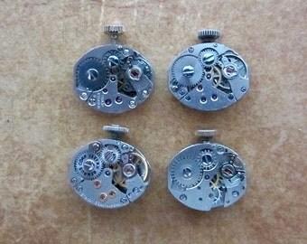 Steampunk watch parts - Vintage Antique Watch movements Steampunk - Scrapbooking D22