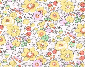 Liberty Fabric Betsy W Tana Lawn One Yard