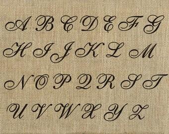 Letter Stencil 2 inch English Alphabet Stencil, Plaster Stencil, Furniture Stencil Wall Stencil