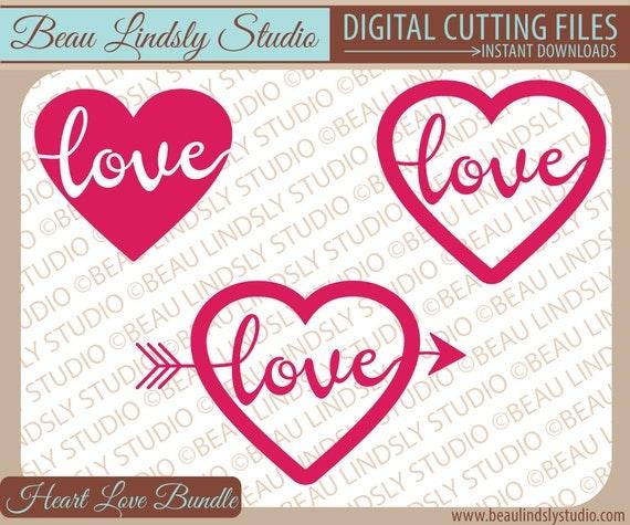 Download Love SVG Cutting File Wedding SVG Cutting File Heart SVG