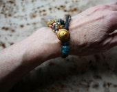 RESERVED Fils du Vent Bracelet for a Small Wrist (up to 6.50 inches flush fit)