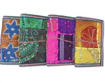 Indian Sari Journals, Buy 3 Get 4, Bulk Buy, Junk Journal, Party Favors, 9x7 inches, Give-away's, Bridesmaids Gifts, RANDOM OOAK Designs